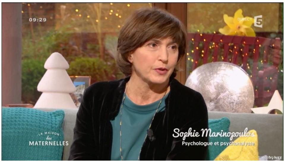 Sophie Marinopoulos dans la Maison des Maternelles