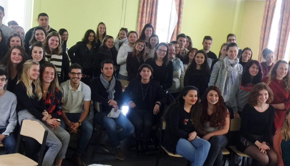 Rencontre avec les étudiants L3 Science Education et InfoCom à Rezé